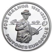 2,50 euros José Malhoa (argent) – revers