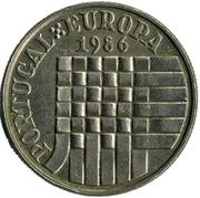 25 escudos Adhésion a la  CEE -  revers