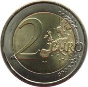 2 euros Croix-Rouge portugaise -  revers