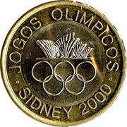 200 escudos Jeux olympiques -  revers