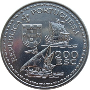 200 escudos Henri le navigateur – avers