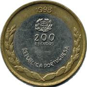 200 escudos EXPO 98 -  avers