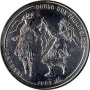 1000 escudos Danse des Pauliteiros -  revers