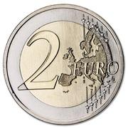 2 euros Pont du 25 Avril -  revers