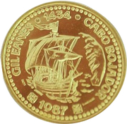 100 escudos Gil Eanes (or) – revers