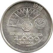 1000 escudos Année pour l'Océan -  avers