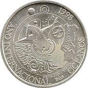 1000 escudos Année pour l'Océan -  revers