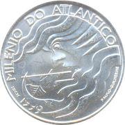 1000 escudos Navigation sur l'Atlantique -  revers