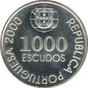 1000 escudos João de Castro -  avers