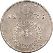 100 escudos Révolution des Œillets – avers