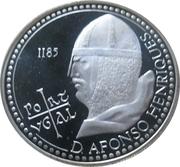 100 escudos Afonso Henriques (argent) – revers