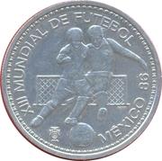 100 escudos Mexico 86 (argent) – revers