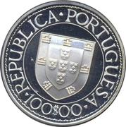 100 escudos Bartolomeu Dias (argent) -  avers