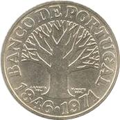 50 escudos Banque du Portugal – revers