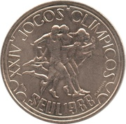250 escudos Jeux olympiques -  revers