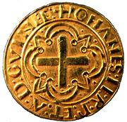 Cruzado - Jean II – revers