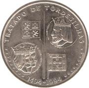 200 escudos Traité de Tordesillas – revers