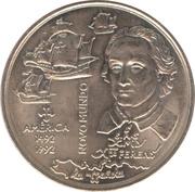 200 escudos Découverte de l'Amérique -  revers
