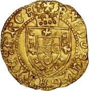 Meio escudo - Alphonse V – avers