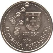 200 escudos Taiwan -  avers
