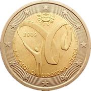 2 euros Jeux de la Lusophonie -  avers