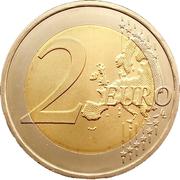 2 euros Jeux de la Lusophonie -  revers