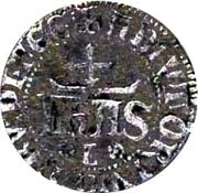 ½ real de 10 soldos - Jean regedor et defensor du royaume – avers