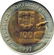 100 escudos EXPO 1998 -  avers