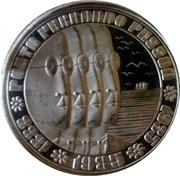100 escudos Fernando Pessoa (argent) – revers