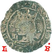 ½ tornês de busto (Lisbonne frappe) - Ferdinand I – avers