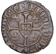 ½ barbuda (Corunha) - Ferdinand I – revers