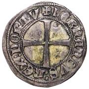 Demi tornês escudo - Ferdinand I (Lisbonne frappe) – revers