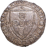 Tornês de Escudo - Fernando I (Samora) – avers