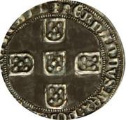 Meio real - Ferdinand I – revers