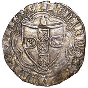 Tornês de escudo (Corunha) - Ferdinand I – avers