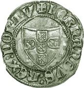 ½ tornês atípico (Corogne) - Ferdinand I – avers