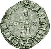 ½ tornês atípico (Corogne) - Ferdinand I – revers
