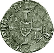 ½ barbuda (Porto) - Ferdinand I – revers