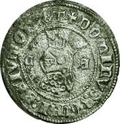 ½ barbuda (Zamora) - Ferdinand I – avers