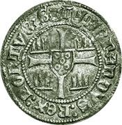 ½ barbuda (Zamora) - Ferdinand I – revers