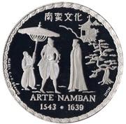 200 escudos Art namban (platine) – revers