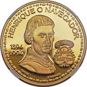 200 escudos Henri le navigateur (or) – revers