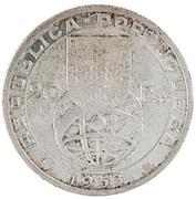 20 escudos Réforme financière (essai) – avers