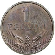 1 escudo (essai) – revers