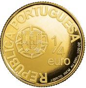 ¼ d'euro Alphonse Henriques – avers