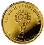 ¼ d'euro Saint-Antoine de Padoue – avers