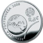 2,50 euros JO 2008 Jeux d'été de Pékin (argent) – avers