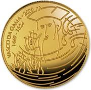 ¼ d'euro Vasco de Gama – revers