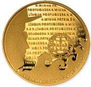 2,50 euros Langue portugaise (or) – avers