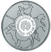 2,50 euros Vallée de Côa (argent) – revers